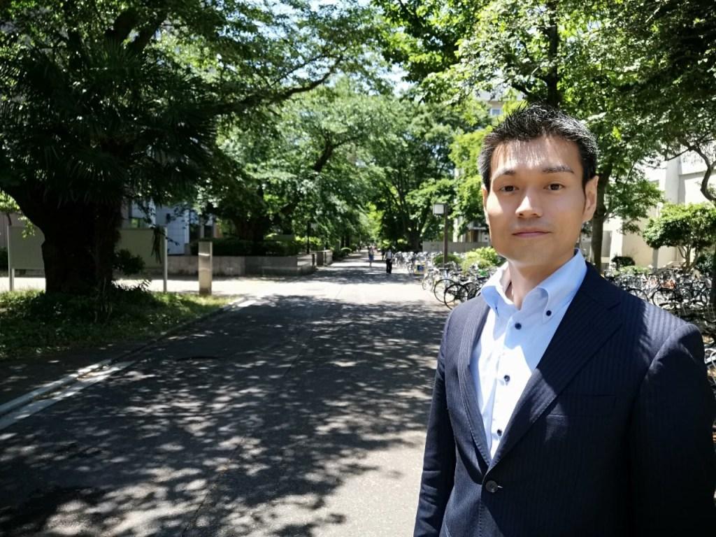 Ground deliveries are a first for Rakuten, said Rakuten Drone UGV General Manager Hideaki Mukai.