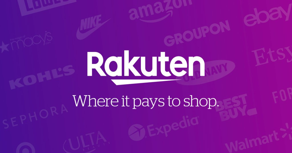 Join Rakuten (formerly eBates)!