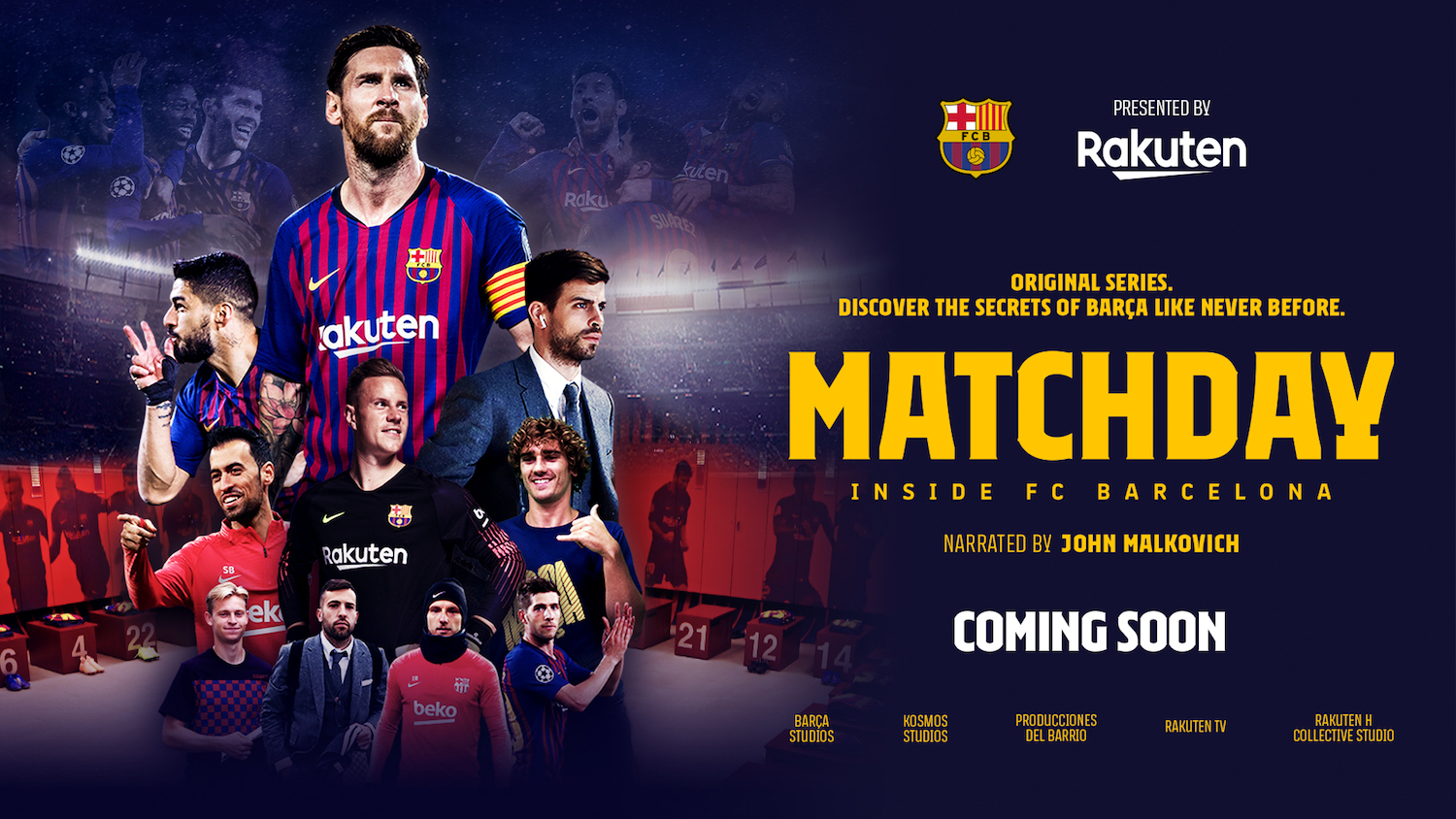 presenting matchday inside fc barcelona the new documentary series presenting matchday inside fc
