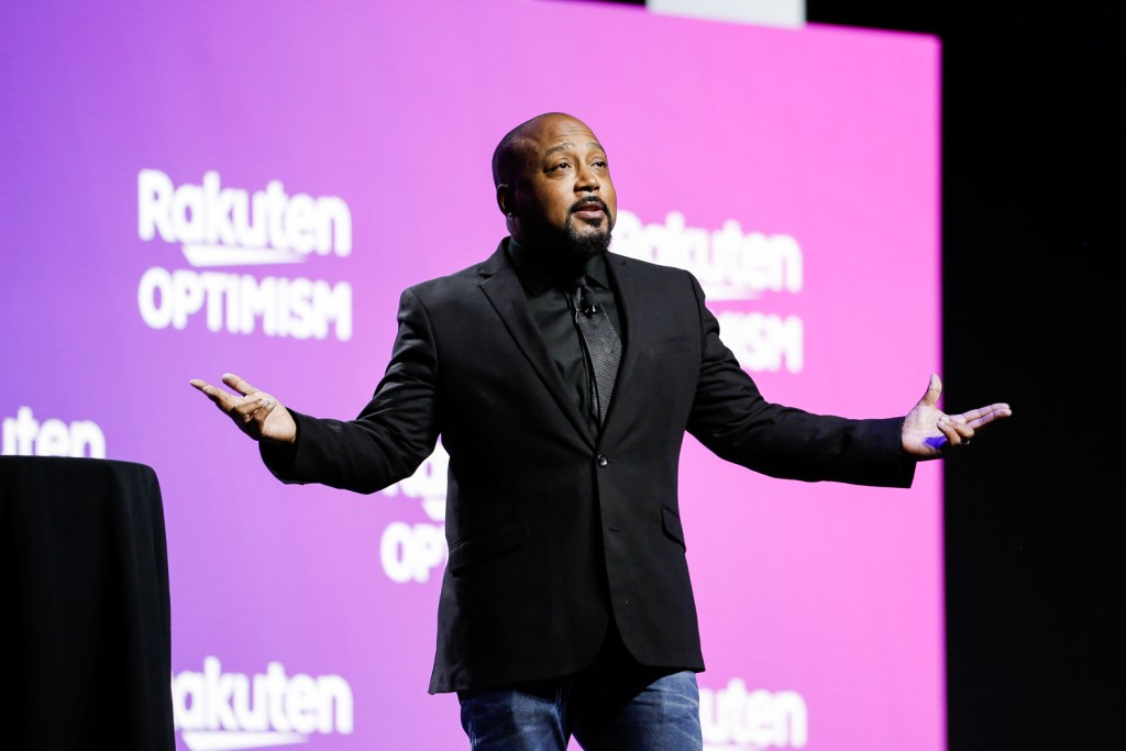Daymond John's high energy keynote capped a day of enlightening and entertaining sessions at Rakuten Optimism in San Francisco.