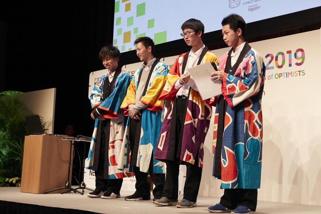 The Kamaishi High School team realized that video games could have social applications.