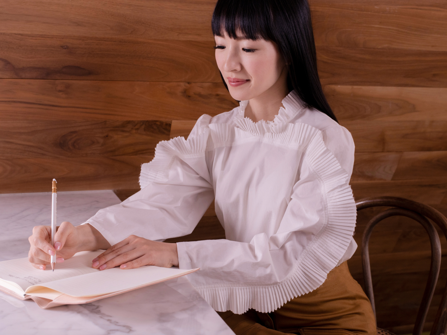 "Whether you're working from home or reflecting on what's next in your career, Marie Kondo's new book ""Joy at Work"" can help."