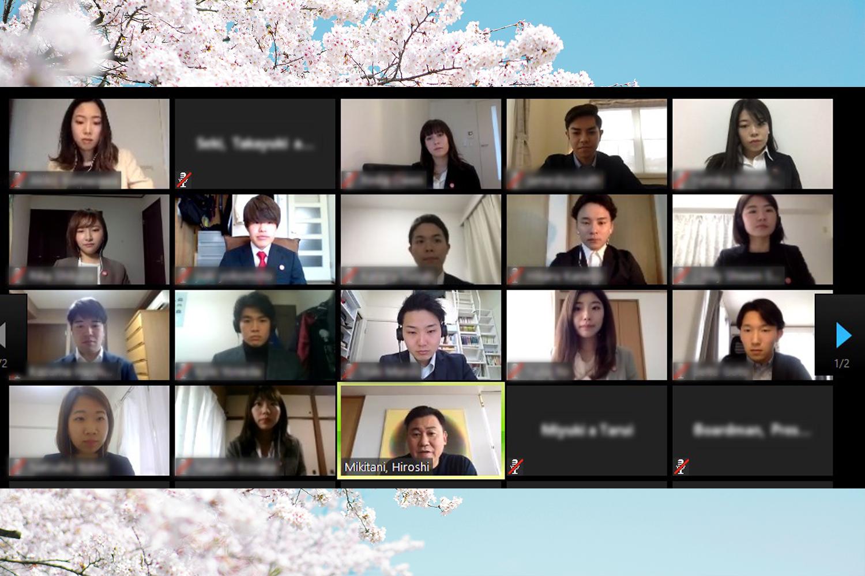 楽天グループ 2020年春入社新卒社員に向けた楽天社長三木谷からのメッセージ