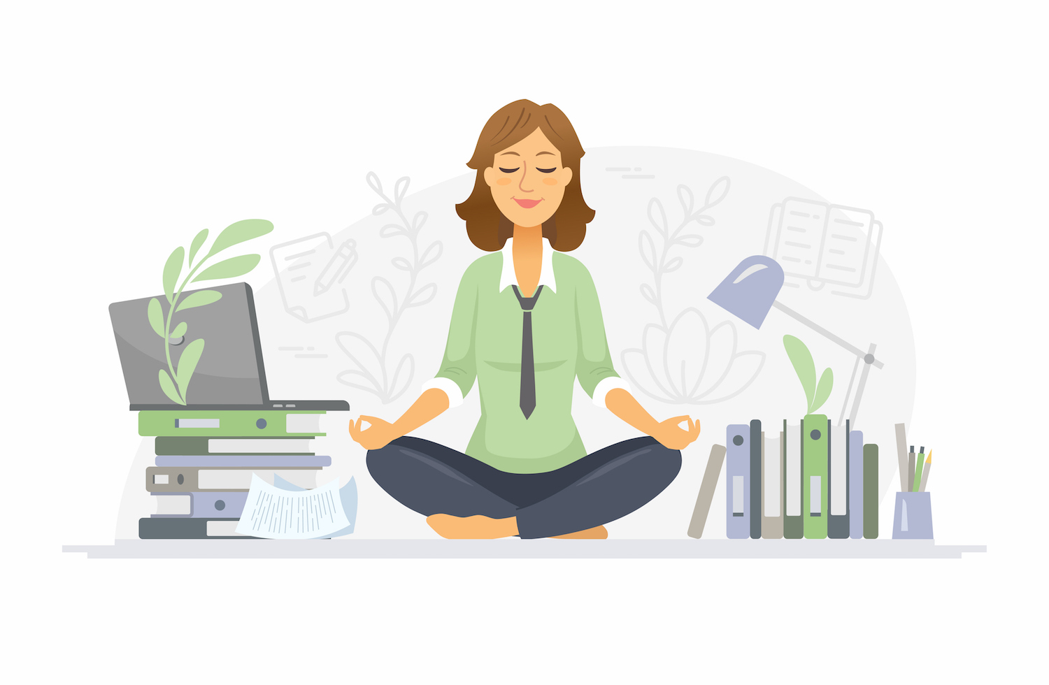 Mindfulness can lead to a happier, healthier and more efficient work environment, whether employees interact with their colleagues in person or over Zoom.