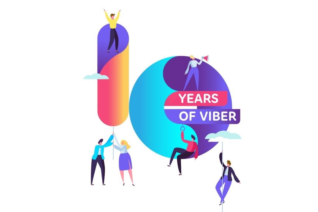 Rakuten Viber and Rakuten France both celebrated 10-year milestones in 2020.