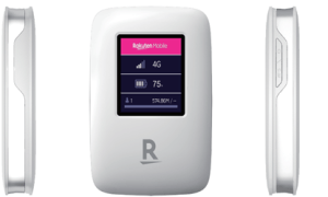 Customers who are interested in Rakuten Mobile but aren't quite sure about it yet can try out the service using the Rakuten WiFi Pocket.