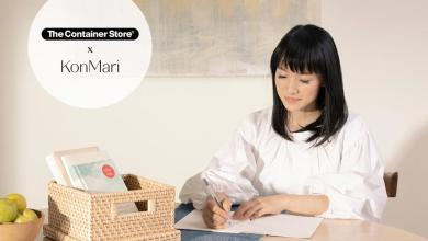 Tidying expert Marie Kondo talks about the inspiration behind her new, exclusive line of organizing essentials: The Container Store x KonMari.