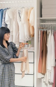 Marie Kondo worked closely with The Container Store for over a year to design organizing essentials that people can use throughout their space.