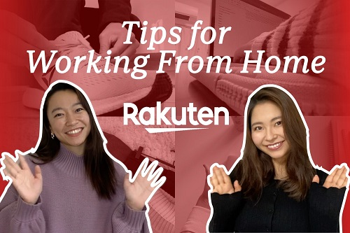 Kickstarting new careers: New Rakuten recruits share their tips for finding remote work success