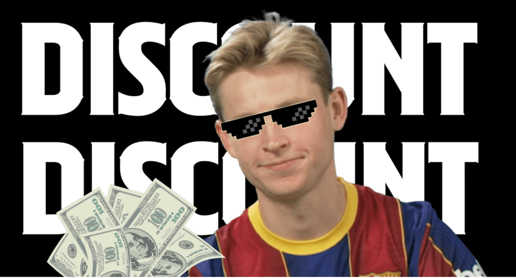 """Frenkie de Jong embraces his love of discounts in """"Most Likely To."""""""