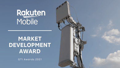 Rakuten Mobile's network was in the spotlight with a win at the GTI Awards 2021