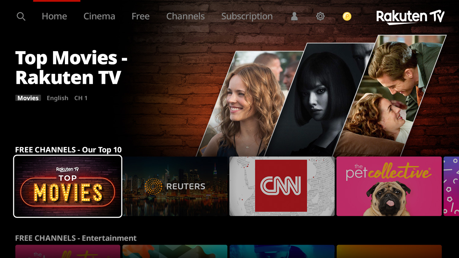 Rakuten TV has launched 90 new linear TV channels, curating everything from blockbuster thrillers to regional news ― all for the low, low price of free.