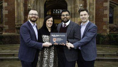 Rakuten Mobile partners with Queen's University Belfast, launches Edge Computing Hub