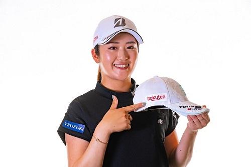 国内女子プロゴルフ界を牽引する稲見 萌寧選手。楽天と共にさらなる高みへ!