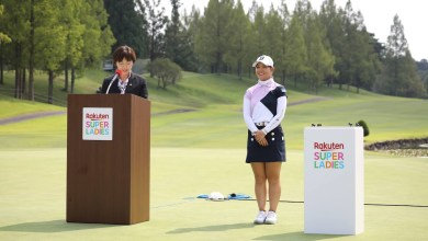 Rakuten Super Ladies is a pro golf tournament which made its debut late last month - the three-day, 54-hole competition was won by Yuri Yoshida.