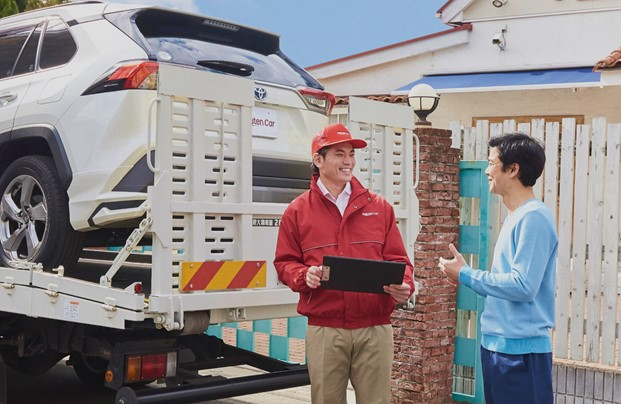 A car at your doorstep: Managing your car life online has never been easier.