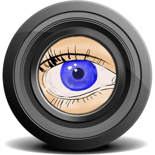 色覚検査の眼