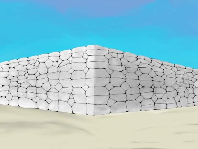 【石垣の描き方】適当に描いても、石垣に見えてくる作画テクニック(自己流)