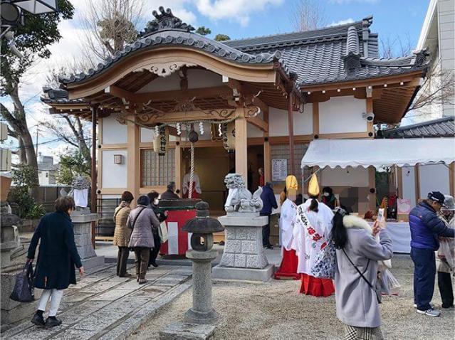 野見神社のお祭り「高槻えびす祭り」に行って福をもらってきました。2019年