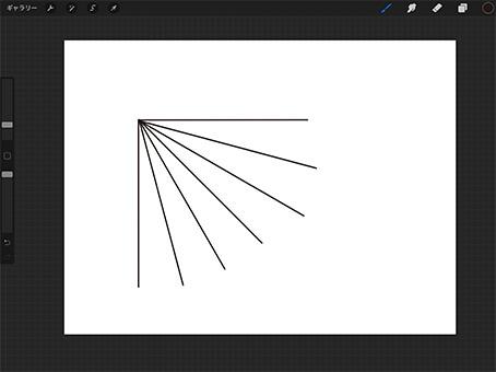 垂直・水平以外の角度を固定する