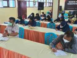 Ketua KPU Toraja Utara, Jadi Peserta Pelatihan Jurnalistik