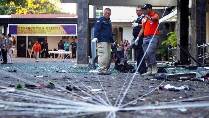 Polisi Jadi Korban Bom di Mapolrestabes Surabaya