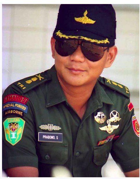 Profil Dan Biodata Prabowo Subianto