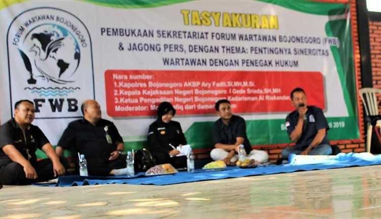 Pembukaan Sekretariat FWB dan Jagong Pers