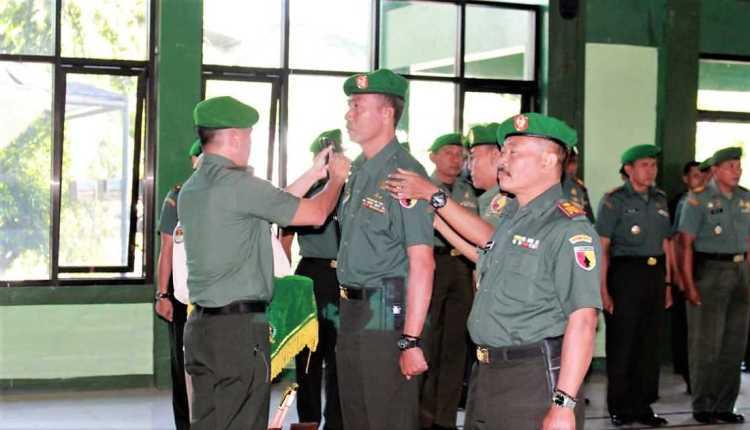 Kodim Bojonegoro Rotasi Jabatan Perwira2