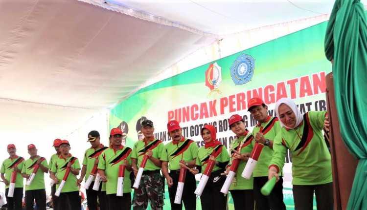 Bupati Bojonegoro Dengan Semangat Gotong Royong