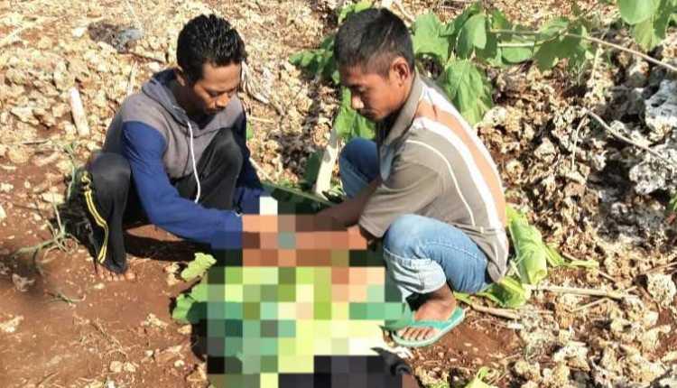 Seorang warga Jono, Temayang, Ditemukan Tewas