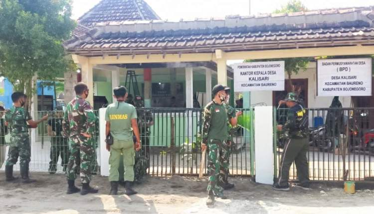 Jelang Pembukaan TMMD Imbangan 2020, TNI Kodim Bojonegoro