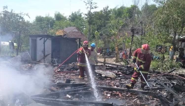Kebakaran 3 Rumah di Pagerwesi, Trucuk,