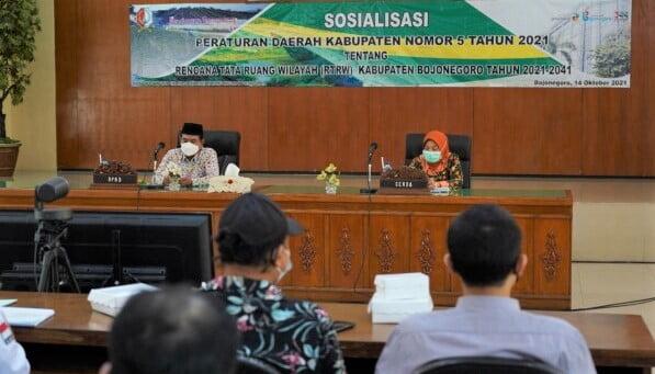 pemkab bojonegoro sosialisasikan rtrw kabupaten bojonegoro 2021 2041,