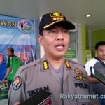 Kabid Humas Polda Sumatera Utara Komisaris Besar Polisi Tatan Dirsan Atmaja. Foto: Rakyatsumut.com/ Ucis
