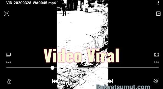 Ilustrasi video viral. Foto: Rakyatsumut.com
