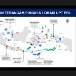 Slide sebaran ikan terancam punah dan lokasi UPT PRL. Foto: Istimewa