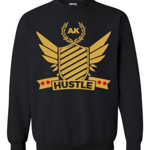 rakz black hustle crew neck
