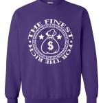 rakz purple money bag classic