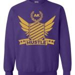 rakz purple hustle crew neck
