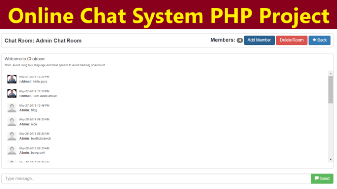online-chat-system-php