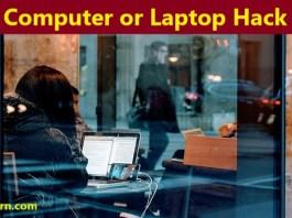 computer or laptop hack