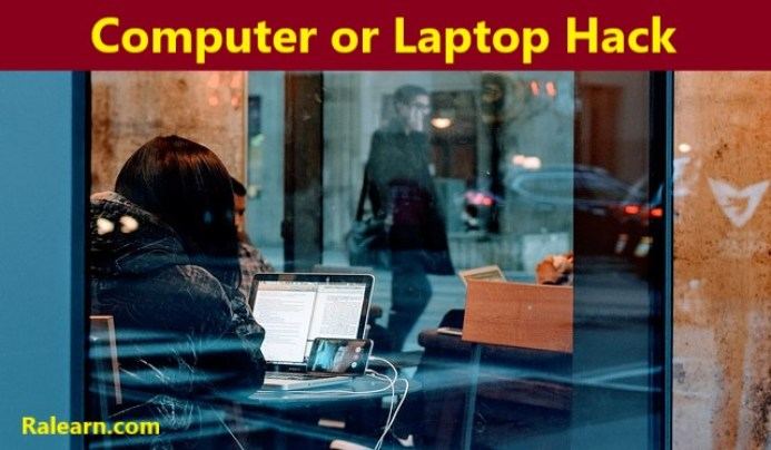 computer or laptop hack
