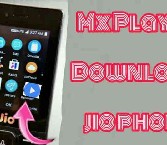jio phone me mx player download kaise kare