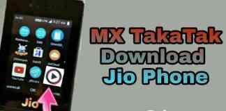 jio phone me mx takatak download