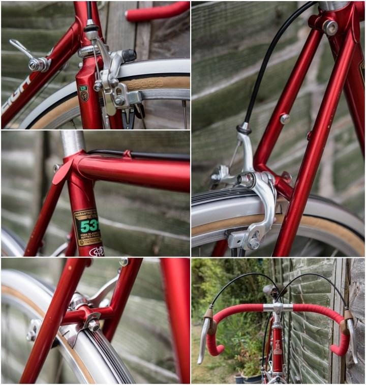 Raleigh SBDU Ilkeston Randonneur 531 1985 SB7660 Detail
