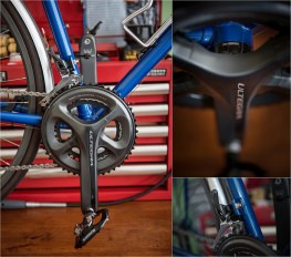 Dave Yates Frame Building Course Complete Bike Front Mech