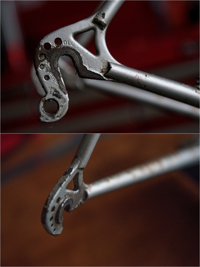 Campagnolo 1060 Vertical Drilled Rear End My TI-Raleigh SBDU Ilkeston