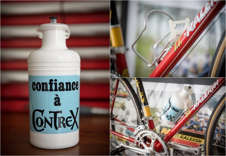 TI-Raleigh 1980 Team Bike Specification SBDU SB4059 TA and Contrex Tour de France Bottle and Cage