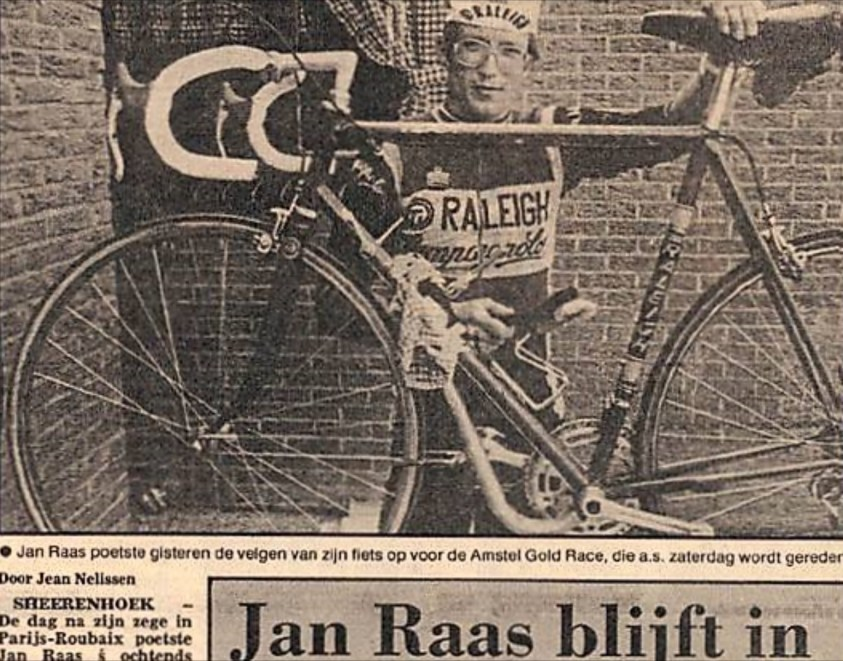 Jan Raas Bike Size SBDU TI-Raleigh